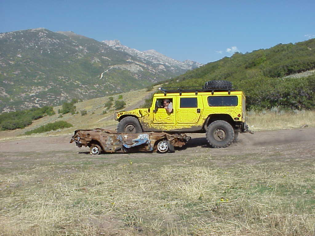 hummer h1 in corner canyon by alpine highland lehi american fork utah